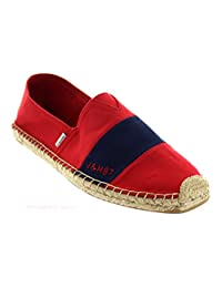 JOY and MARIO Men's 19 Variations Bundle Casual Comfort Canvas Hemp Leather Slip-On Loafers Espadrille Flats Shoes