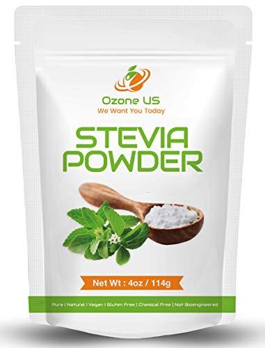 (Stevia Powder Pure Natural Stevia Extract Sugar Substitute Stevia Baking Stevia | Zero-Calorie Sweetener NO AFTERTASTE - 4oz (Premium))