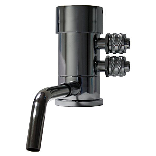 Ionizer Faucet with Acid Tax spout for Alkaline water machine. Lead Free! (Polished Chrome)