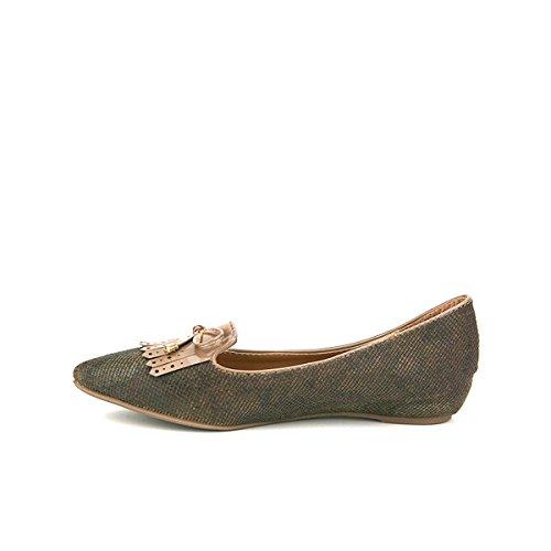 Mode Chaussures Bronze Ballerine CREANA Cendriyon Femme IqFtnw