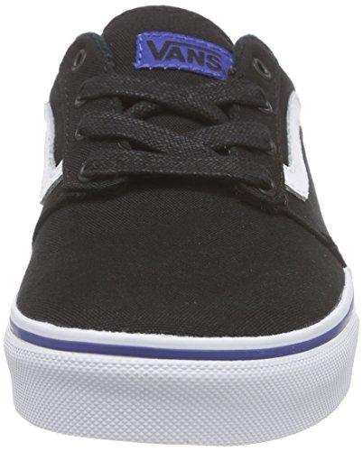 Vans Chapman Stripe - Zapatillas Niños Negro (varsity/black/blue)