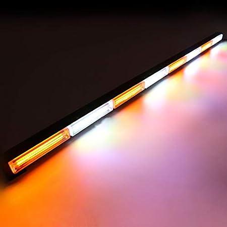 balise lumineuse HEHEMM Lampe de travail /à LED COB 115/cm 144/W feux d/'urgence pour d/épanneuse barre lumineuse lampe d/'avertissement stroboscopique
