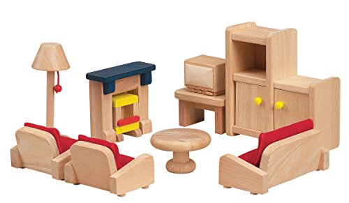 Small World Toys Ryan's Room Wooden Doll House (Ryans Wood Room)