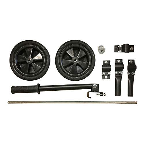 Buffalo Corp. Generator Wheel Kit Assembly for 4000W Sportsman Generators - Black