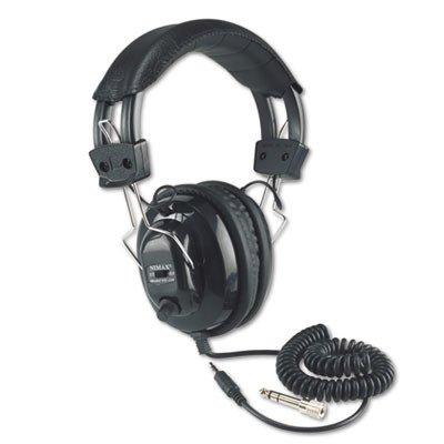 Amplivox Deluxe Stereo Headphones - APLSL1002 - Deluxe Stereo Headphones w/Mono Volume Control