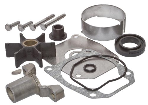 SEI MARINE PRODUCTS- Evinrude Johnson Water Pump Kit 40 48 50 55 60 70 75 HP 2 Stroke Half Moon Key