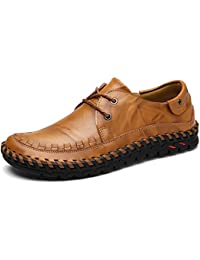 Men' Loafers Shoes for Men Slip on Shoes Casual Leather Shoes
