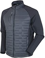 Sunice Hamilton Climaloft Thermal Jacket The Sunice Hamilton Climaloft Thermal Jacket is a lightweight hybrid thermal stretch jacket with front and back quilted panels.   Climaloft Warmth Climaloft insulation contains ultra-fine polyester fib...
