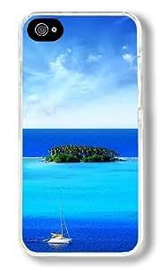 Cobblestone Road Custom iphone 5c iphone 5c Case Back Cover, Snap-on Shell Case Polycarbonate PC Plastic Hard Case Transparent