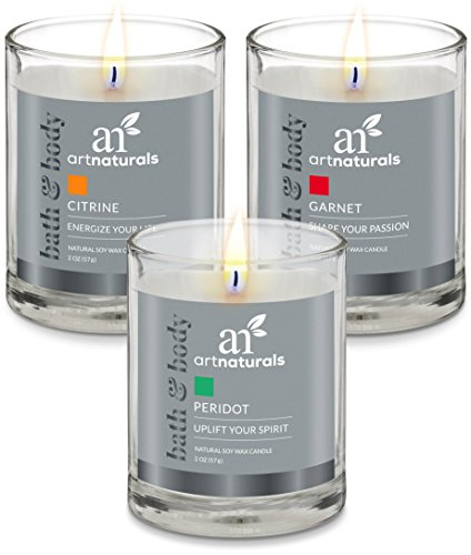 ArtNaturals Scented Aromatherapy Candle Set product image