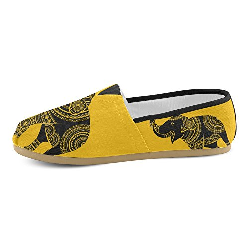 InterestPrint elephant Loafers Casual Shoes for Men Women Elephant 1 pZrZAcil