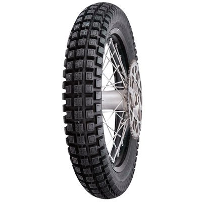 Shinko Trail Pro 255 Radial Trials Tire 110/90R-18 (61L) Tube/Tubeless for KTM 350 XCF-W Six Days 2014-2016