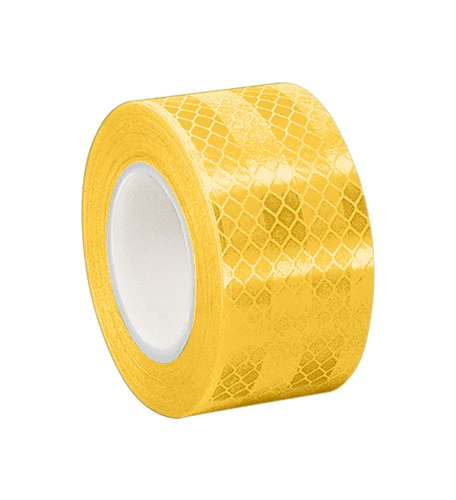 3m-3431-yellow-micro-prismatic-sheeting-reflective-tape-0875-x-5-yd-1-roll