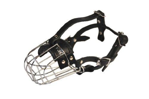 Dean and Tyler Wire Basket Muzzle, Size No. 3 - Miniature Schnauzer ()