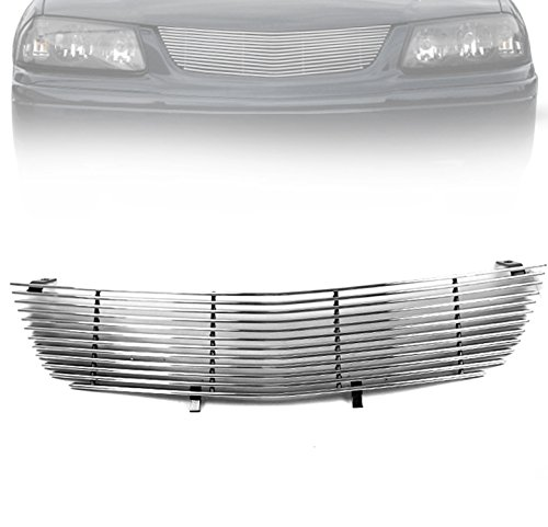 Grille Emblem Impala - ZMAUTOPARTS Chevy Impala Front Upper Billet Grille Grill Insert W/O Emblem