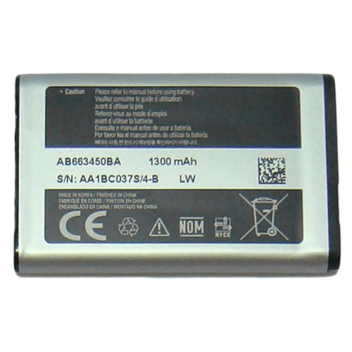 OEM SAMSUNG AB663450BA BATTERY FOR SAMSUNG A847 RUGBY 2 II