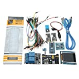 Compatible SCM & DIY Kits Compatible Kits & DIY Kits - Nano V3 Climate Monitor Kit With 1.8 Inch TFT GY-68 BMP180 DHT11 RTC Relay Module For - 1 x Nano V3.0 Mainboard (A