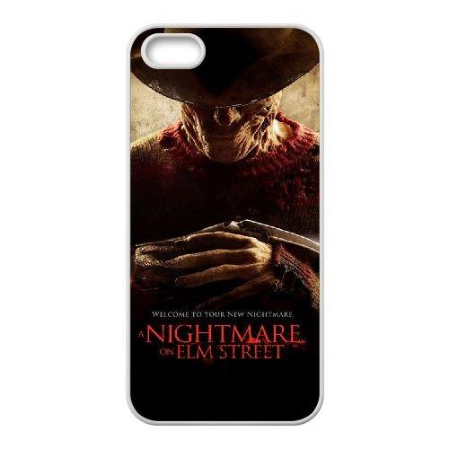 R8F31 un cauchemar sur la rue de l'orme A2D8VK coque iPhone 5 5s cellulaire cas de téléphone couvercle coque blanche WW4YGM1XI