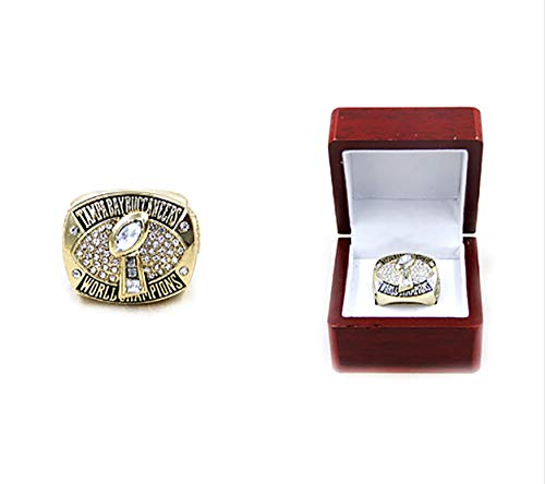 Tampa Bay Buccaneers Super Bowl XXXVII 2002 Football Championship Rings with Display case (Tampa Bay Buccaneers Replica Super Bowl Ring)
