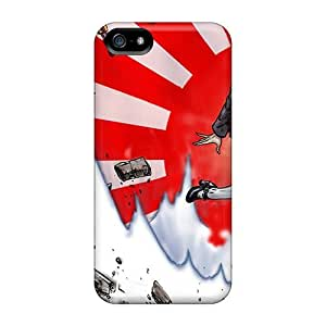 Premium Red Alert Japanese Skin For SamSung Galaxy S5 Phone Case Cover
