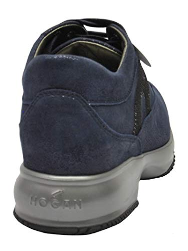 Blue Sneakers Women's HXW00N05640FEVU805 Hogan Fabric qEA7ng