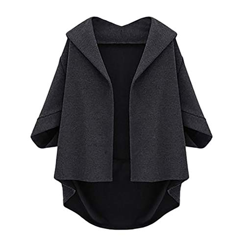 Price comparison product image Womens Jacket,Gillberry Plus Size Autumn Bat Sleeves Cropped Sleeves Winter Woolen Coat