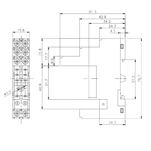 16A//250V~ 1 Wechsler WITTKOWARE PCB Leistungsrelais 12V-