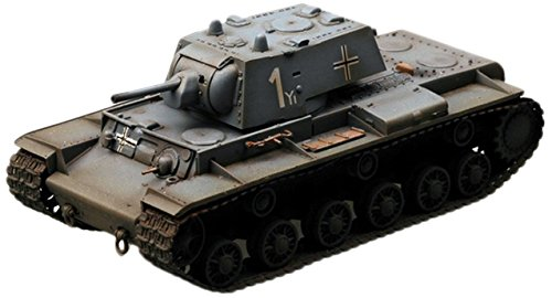 Easy Model KV-1 Model 1941 Heavy, A captured KV-1 of the 8th Panzer Division Die Cast Military Land Vehicles from Easy Model