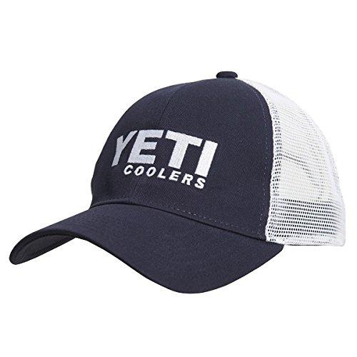Yeti Coolers Mens Traditional Trucker Cap Adjustable Navy (Good Trucker Hat)