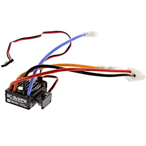 Esc Electronic Speed Control (HPI 1/12 Wheely King 4x4 SC-3SWP2 WATERPROOF ELECTRONIC SPEED CONTROL ESC 3S by HPI Racing)