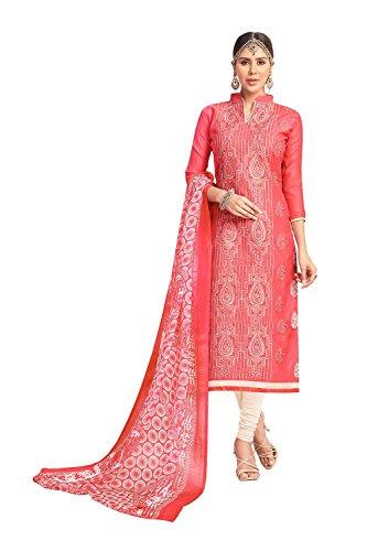 Aashima Fab Store Indian Women Designer Partywear Ethnic Traditonal Orange Anarkali Salwar Kameez. by Aashima Fab Store