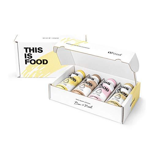 YFood Probierpaket | Laktose- und glutenfreier Nahrungsersatz | 34g Protein, 26 Vitamine und Mineralstoffe | Leckere Astronautennahrung – 4 Sorten Tasterpack| Trinkmahlzeit, 4 x 500ml (1 kcal/ml)