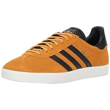 adidas Originals Gazelle Sneaker,Tactile YellowBlack