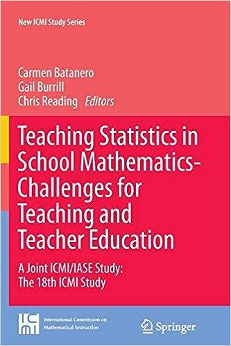 Buy Teaching Statistics in School Mathematics-Challenges for