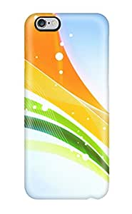 Flexible Tpu Back Case Cover For Iphone 6 Plus - Artistic