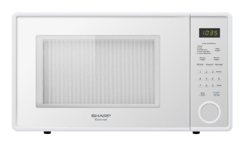 Sharp R 309YW Microwave cu ft Standard