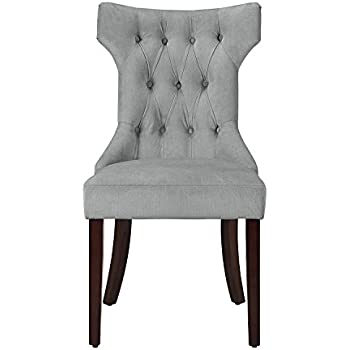 this item living tufted dining chair gray set target grey canada with arms