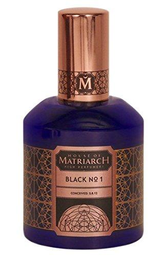 House of Matriarch 'Black No.1' (ハウス オブ メイトリアーク - ブラック No.1)1.7 oz (50ml) Fragrance for Unisex   B01B6Q5ZEC
