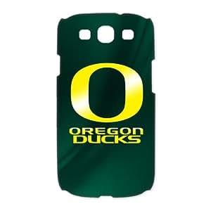 Samsung Galaxy S3 i9300 Case Cover Protector (NCAA Oregon Ducks O Design ) Fashion Style