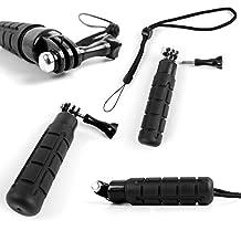 DURAGADGET Limited Edition, Waterproof Hand Grip Pole / Monopod with Wrist Strap in Black - Compatible with the SJCAM SJ5000 | SJ5000x Elite | SJ5000+ | SJ4000 | SJ4000+ | SJ X1000 | SJ M10+ Action Cameras