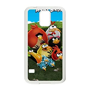 Angry Birds Samsung Galaxy S5 Cell Phone Case White SUJ8465796