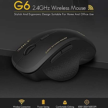 Vista Apple Mac for Win 10//7//8 // XP Color : Red Happyshopping M185 2.4GHz 3-Keys 1000DPI Wireless Optical Mouse G6 Wireless Mouse 2.4G Office Mouse 6-Button Gaming Mouse Black