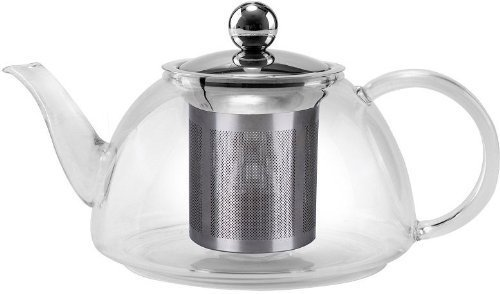 Uniware Pyrex Heat resistant Glass Kettle Tea Pot 800ml NEW!