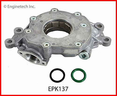 Enginetech EPK137 Oil Pump CHEV 5.3L 6.0L 6.2L OE HAS CAST Hole by MOUNTING Bolt Holes