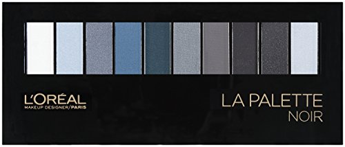 L'Oréal Paris Colour Riche Eye La Palette Eye Shadow, Noir, 0.62 oz. (Shadow Gray Color)