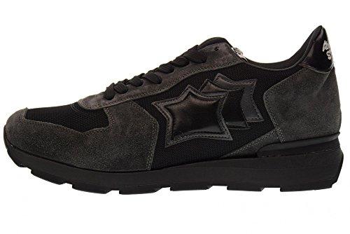 Scarpe 72N Uomo Grigio Sneakers Atlantic Antar Ana nero Basse Stars HPqWWng