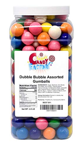 Gumballs 4.5 Lbs - Dubble Bubble Assorted 1