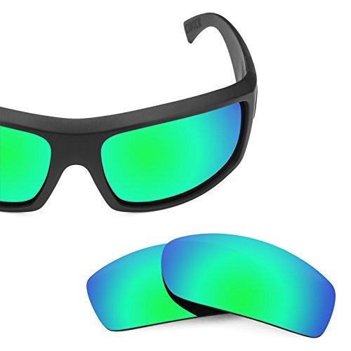 Von Esmeralda Mirrorshield Zipper Opciones de Revant Clutch repuesto Lentes múltiples para — Verde Polarizados IXPq7