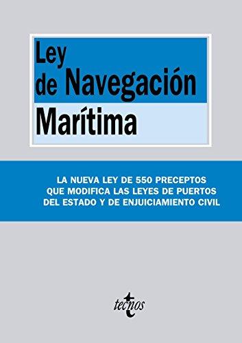 486.LEY DE LA NAVEGACION MARITIMA.(BIBL.TEXTOS LEGALES)