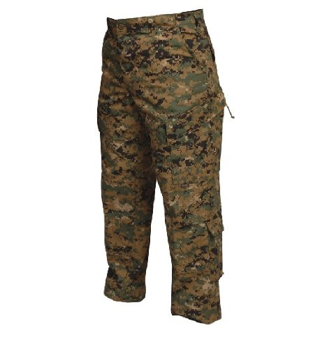 ATLANCO 1268004 Tactical Response Uniform Pants, Medium-Regular, Polyester/Cotton, Digital